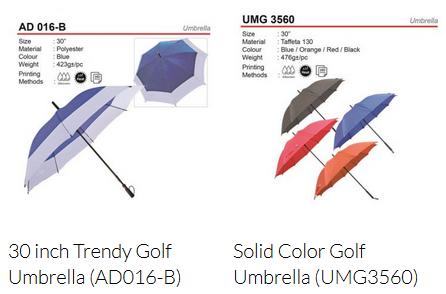 Umbrella Supplier Malaysia - Corporate gift